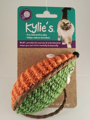 Toy Kylie's two tone Raffia Mouse