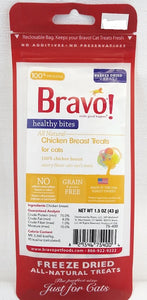 Bravo Freeze-Dried Heathy Bites Chicken Breast Treats