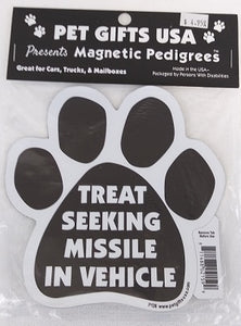 Magnet - Treat Seeking Missile
