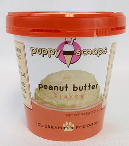 Puppy Scoops Ice Cream Peanut Butter