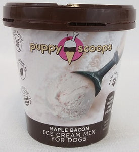 Puppy Scoops Ice Cream Maple Bacon