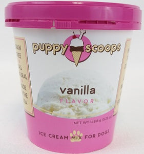Puppy Scoops Ice Cream Vanilla