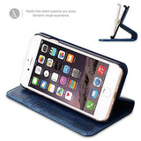 iPhone 7 Genuine Leather Case - Blue