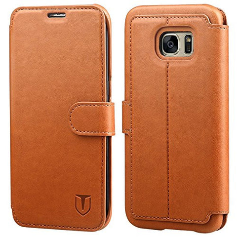 Galaxy S7 Edge Case - Light Brown