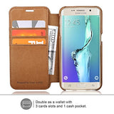Galaxy S6 Edge Case - Brown