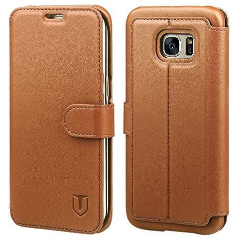 Galaxy S7 Edge Case - Brown