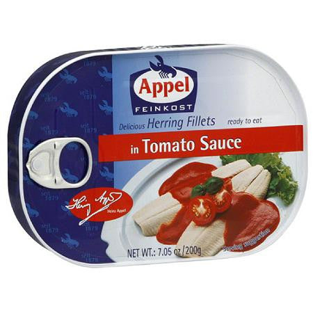 Appel Herring Fillets in Tomato Sauce 7 oz