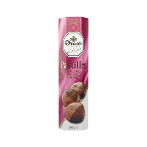 Droste Milk/Dark Pastilles. 3.5 oz