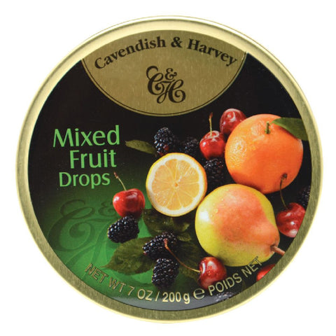 Cavendish & Harvey Mixed Fruit Drops 5.3oz