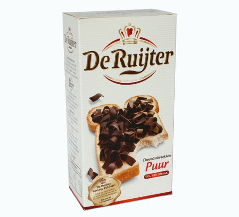 De Ruijter Dark Chocolate Flakes 10.5 oz