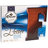 Droste Milk Chocolate Letter F - 135 gr large