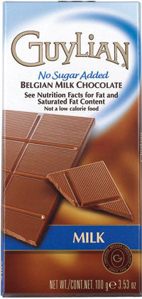 Guylian Milk Chocolate Bar s/f