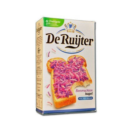 De Ruijter Forest Fruit Sprinkles 10.6 oz ( BAG)
