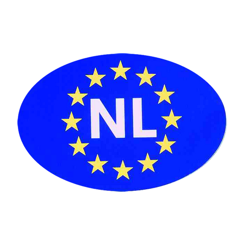 Bumper Sticker Holland-Europe (NL)