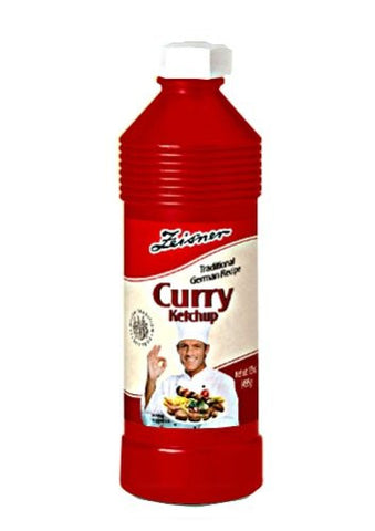 Zeisner Curry ketchup 17.5 oz