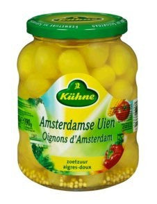 Kuhne Amsterdamse onions 11.9oz
