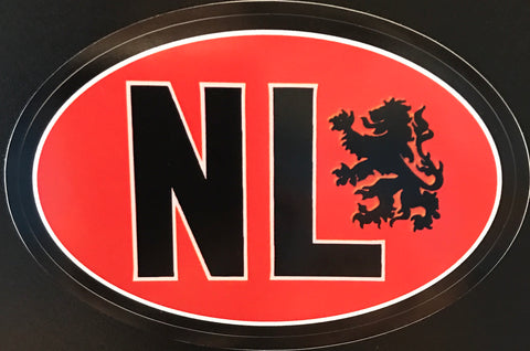 Bumper Sticker Orange (NL)