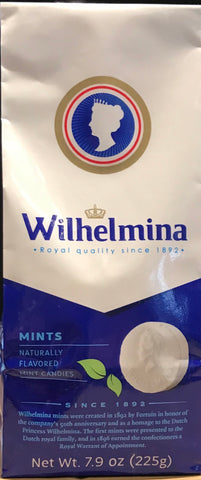 Dutch pepermints Wilhelmina