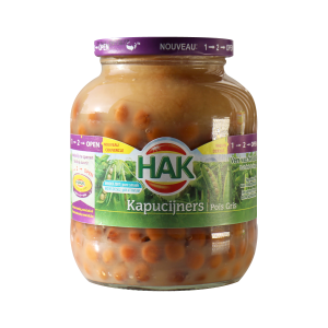 Hak Marrowfat peas (Kapucijners) 25 oz