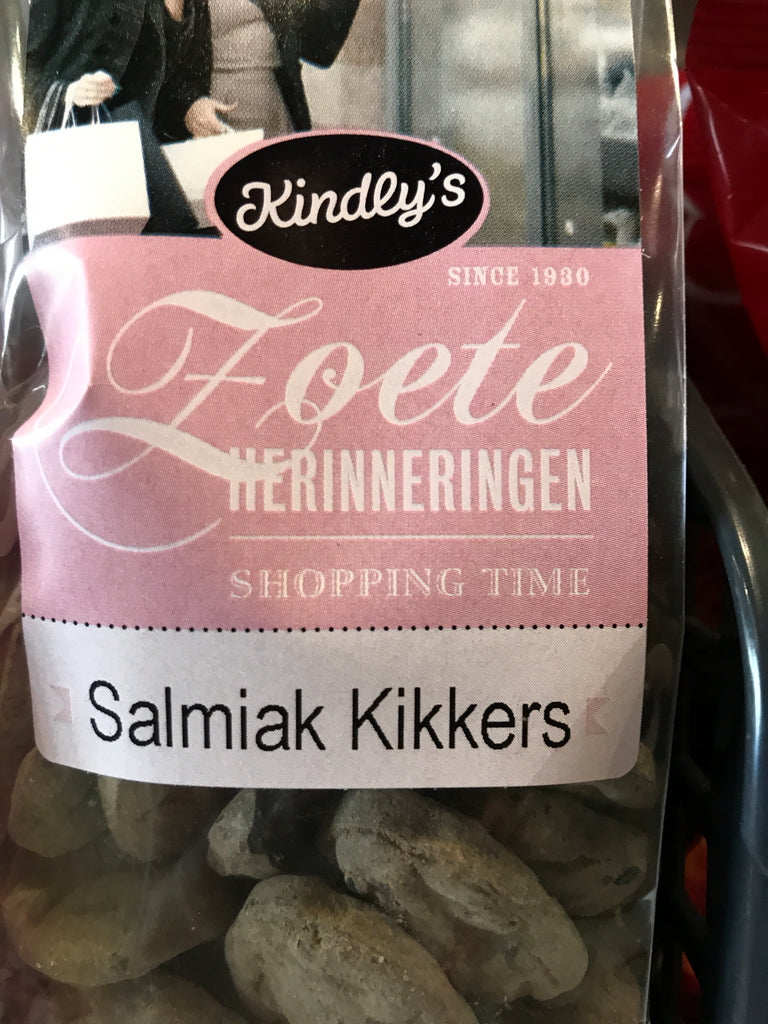 Kindlys Salmiak Kikkers  180 gr