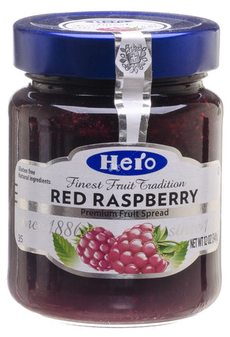 Hero Red Raspberry Jam 12 oz
