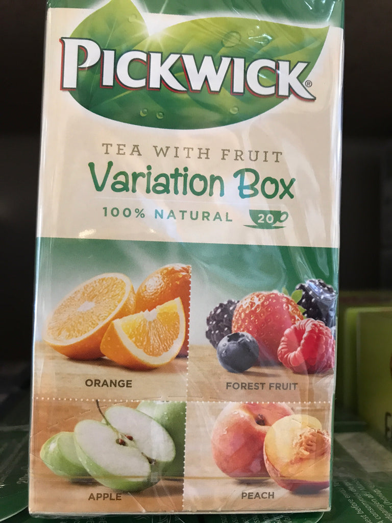 Pickwick tea with fruit variety bix