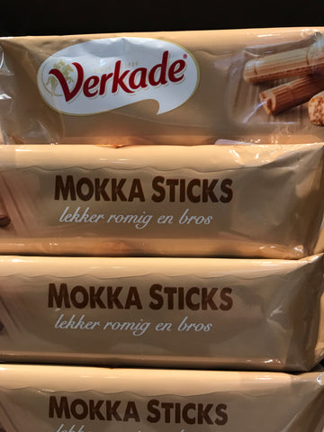 Verkade Mokka Sticks 150 gr.