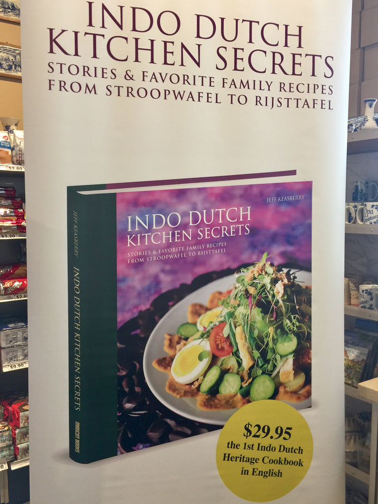 Cookbook - Indo Dutch Kitchen Secrets by Jeff Keasberry