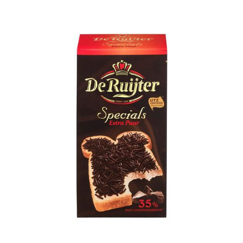 De Ruijter Specials Extra Puur Chocolate Hail 7 oz