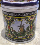 Wind mills tin with 8 pcs stroopwafel