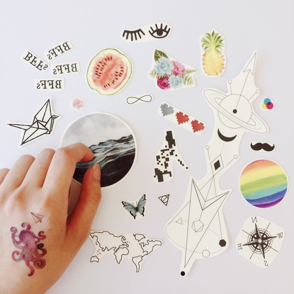 Temporary Tattoo Collection