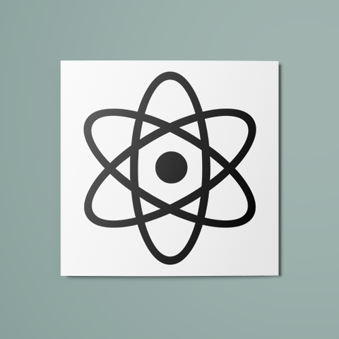 Atom Temporary Tattoo