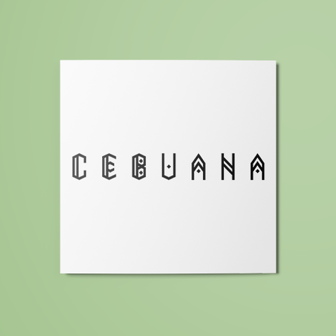 Cebuana Temporary Tattoo