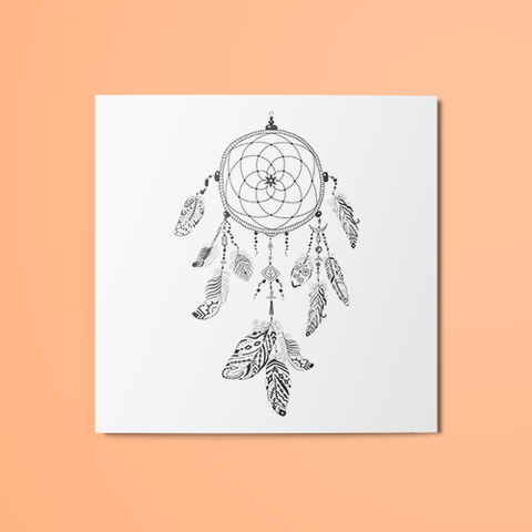Dreamcatcher v6 Temporary Tattoo