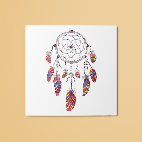 Dreamcatcher v7 Temporary Tattoo