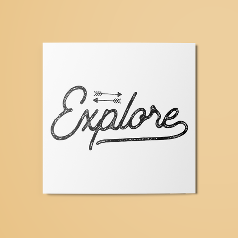 Explore Temporary Tattoo