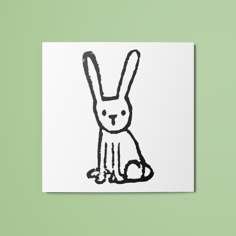 Little Bunny Temporary Tattoo