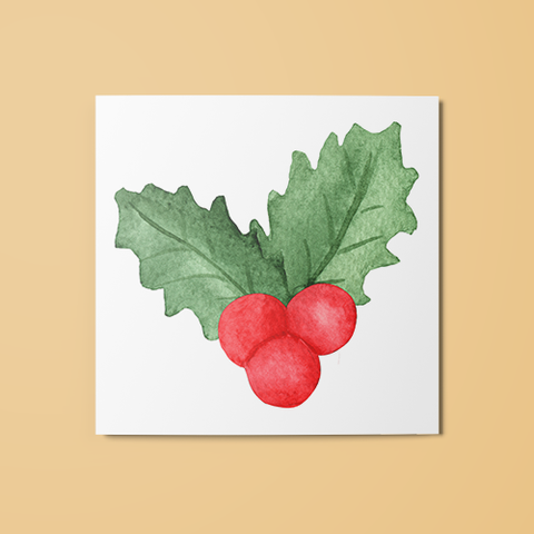 Mistletoe Temporary Tattoo