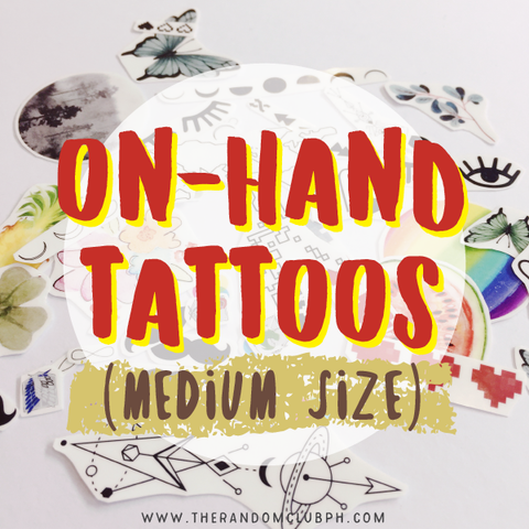 On-Hand Tattoos (Medium Size)
