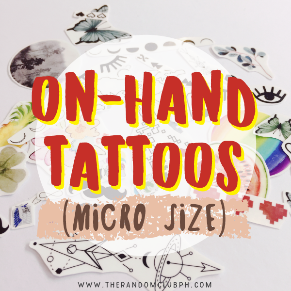 On-Hand Tattoos (Micro Size)