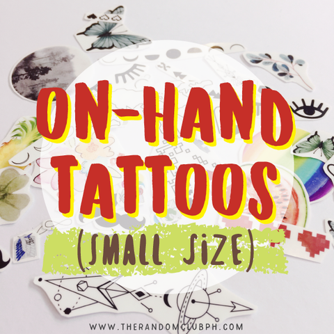 On-Hand Tattoos (Small Size)