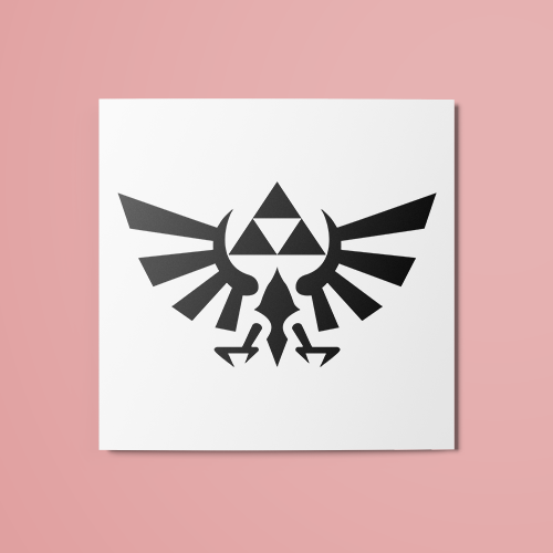 The Legend of Zelda - Triforce v2 Temporary Tattoo