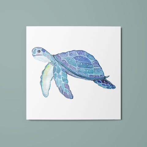 Turtle Temporary Tattoo