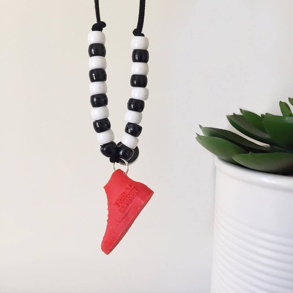 NECKLACES Tribal Runner & Bear and Cub Collab - RED SHOE