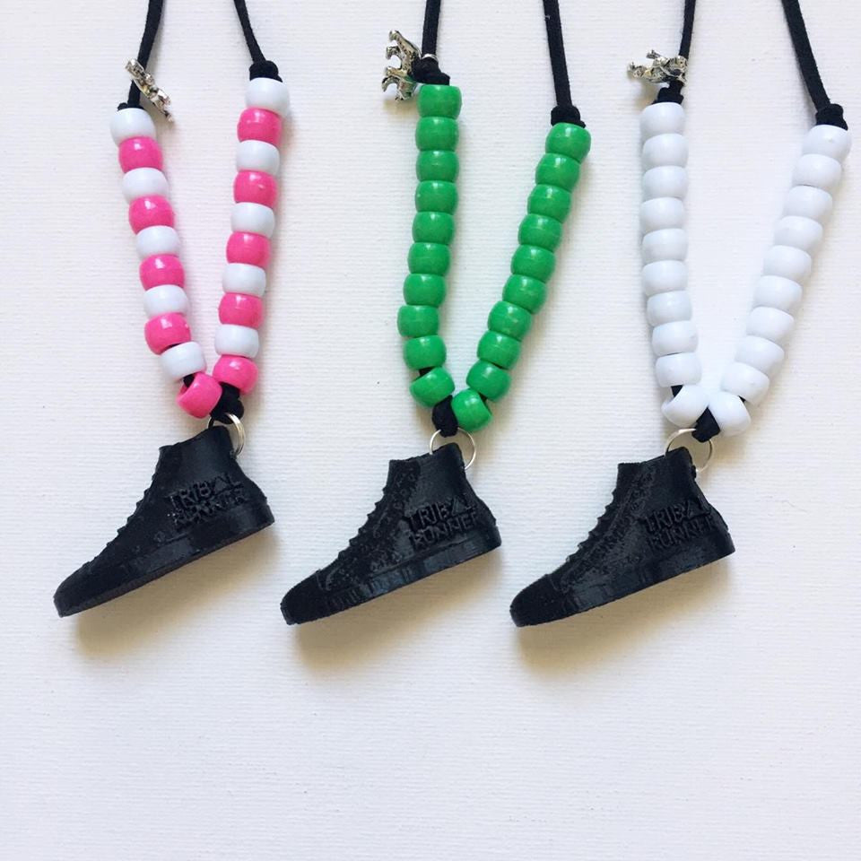 NECKLACES Tribal Runner & Bear and Cub Collab - BLACK SHOE