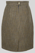 JUDY Checked Pencil Skirt