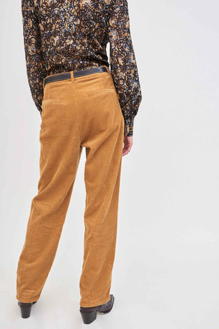 PIPA Corduroy Wide-Leg Trousers