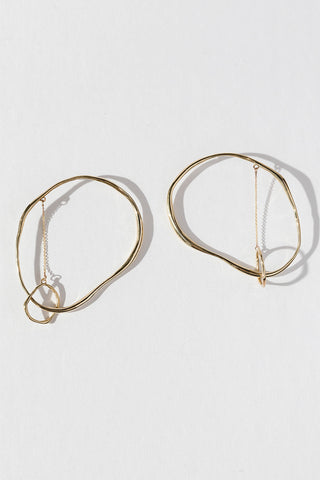 VERO LUNAIRE Bronze Earrings