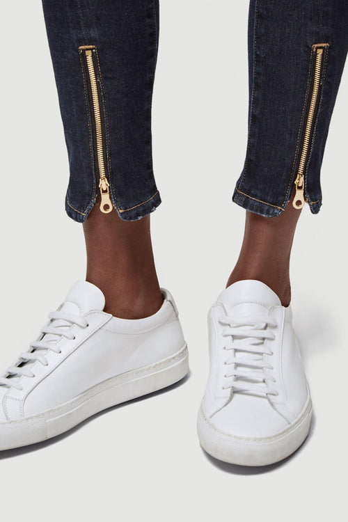 Le High Skinny Split Zip Jeans