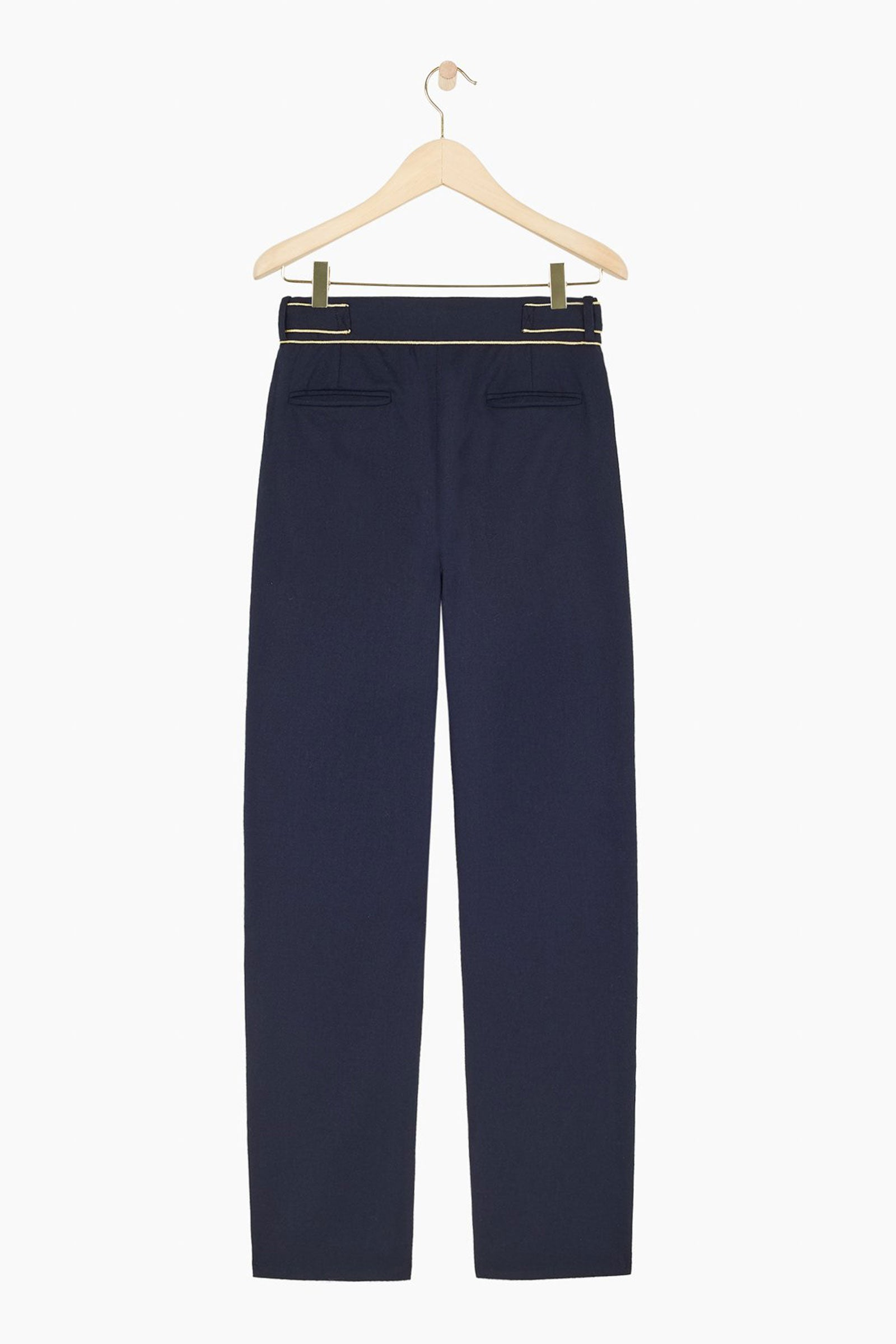 STONE Wool-Blended Tapered Trousers